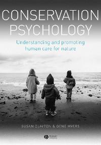Cover Conservation Psychology