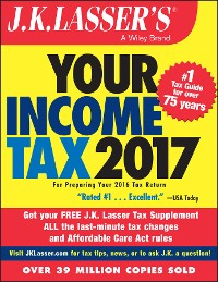 Cover J.K. Lasser's Your Income Tax 2017