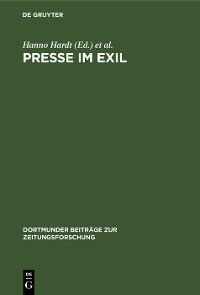 Cover Presse im Exil
