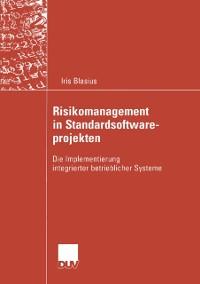 Cover Risikomanagement in Standardsoftwareprojekten