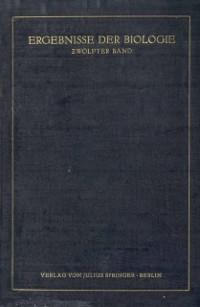 Cover Ergebnisse der Biologie