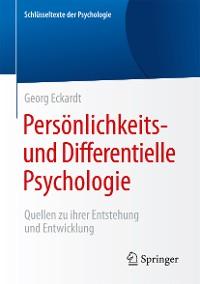Cover Persönlichkeits- und Differentielle Psychologie