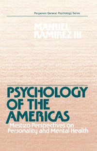 Cover Psychology of the Americas