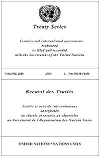 Cover Treaty Series 2886/Recueil des Traités 2886