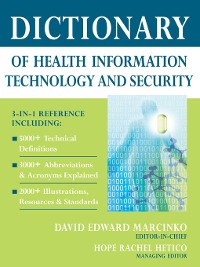 Cover Dictionary of Health Information Technology and Security