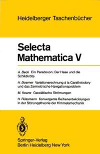 Cover Selecta Mathematica V