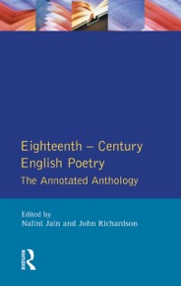 Cover Eighteenth Century English Poetry