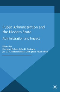 Cover Public Administration and the Modern State