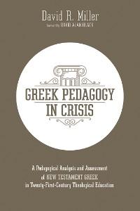Cover Greek Pedagogy in Crisis