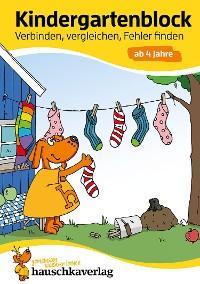 Cover Kindergartenblock - Verbinden, vergleichen, Fehler finden ab 4 Jahre