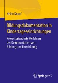 Cover Bildungsdokumentation in Kindertageseinrichtungen