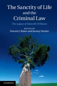 Cover Sanctity of Life and the Criminal Law