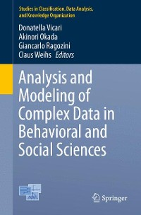 Cover Analysis and Modeling of Complex Data in Behavioral and Social Sciences