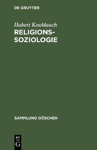 Cover Religionssoziologie