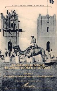 Cover La question du pouvoir en afrique du nord et de l'ouest - ho