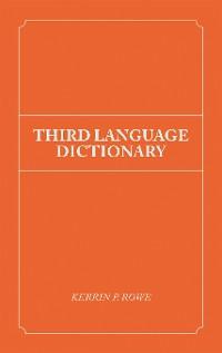 Cover Third Language Dictionary