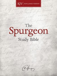 Cover KJV Spurgeon Study Bible