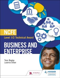 Cover NCFE Level 1/2 Technical Award in Business and Enterprise