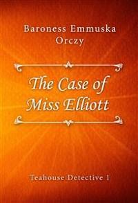 Cover The Case of Miss Elliott