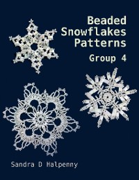 Cover Beaded Snowflake Patterns - Group 4
