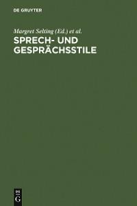 Cover Sprech- und Gesprächsstile