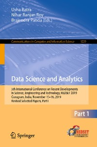 Cover Data Science and Analytics