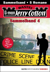 Cover Jerry Cotton Sammelband 4 - Krimi-Serie