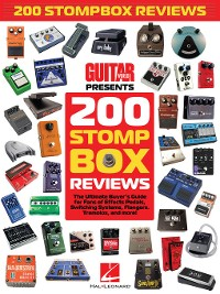 Cover Guitar World Presents 200 Stompbox Reviews