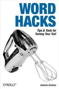 Cover Word Hacks