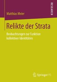 Cover Relikte der Strata