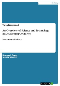 Cover An Overview of Science and Technology in Developing Countries