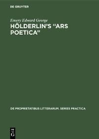 "Cover Hölderlin's ""Ars poetica"""