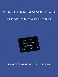 Cover A Little Book for New Preachers