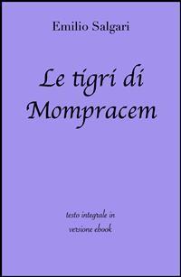Cover Le tigri di Mompracem di Emilio Salgari in ebook