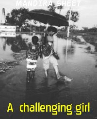 Cover A  challenging girl