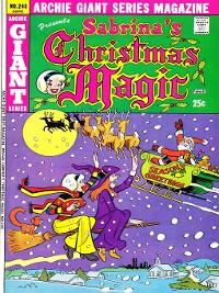 Cover Sabrina's Christmas Magic (2014), Issue 5