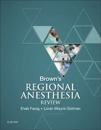 Cover Brown's Regional Anesthesia Review E-Book