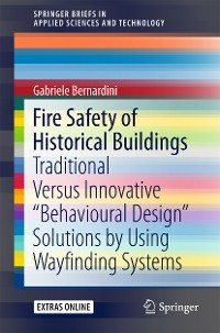 Cover Fire Safety of Historical Buildings