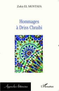 Cover HOMMAGES A DRISS CHRAIBI