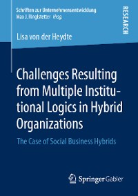 Cover Challenges Resulting from Multiple Institutional Logics in Hybrid Organizations