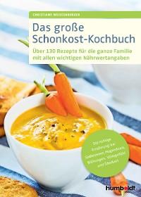 Cover Das große Schonkost-Kochbuch