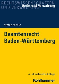 Cover Beamtenrecht Baden-Württemberg