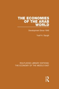 Cover Economies of the Arab World (RLE Economy of Middle East)