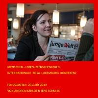 Cover Menschen - leben. Menschenleben.
