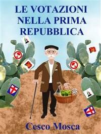 Cover Le votazioni nella prima repubblica