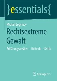 Cover Rechtsextreme Gewalt