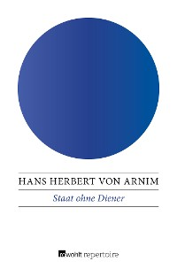 Cover Staat ohne Diener