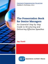 Cover The Presentation Book for Senior Managers