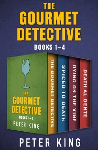Cover Gourmet Detective Books 1-4
