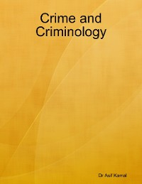 Cover Crime and Criminology